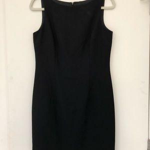 Laundry by Shelli Segal Black Shift Dress 10 LBD